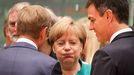 Angela Merkel y Pedro Sánchez, en una imagen de junio del 2018