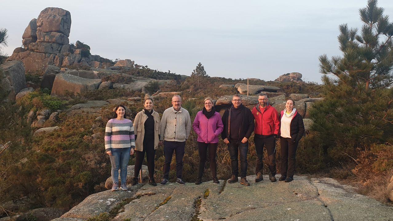 Estudiantes del IES Alfredo Brañas, de excursión en Huesca