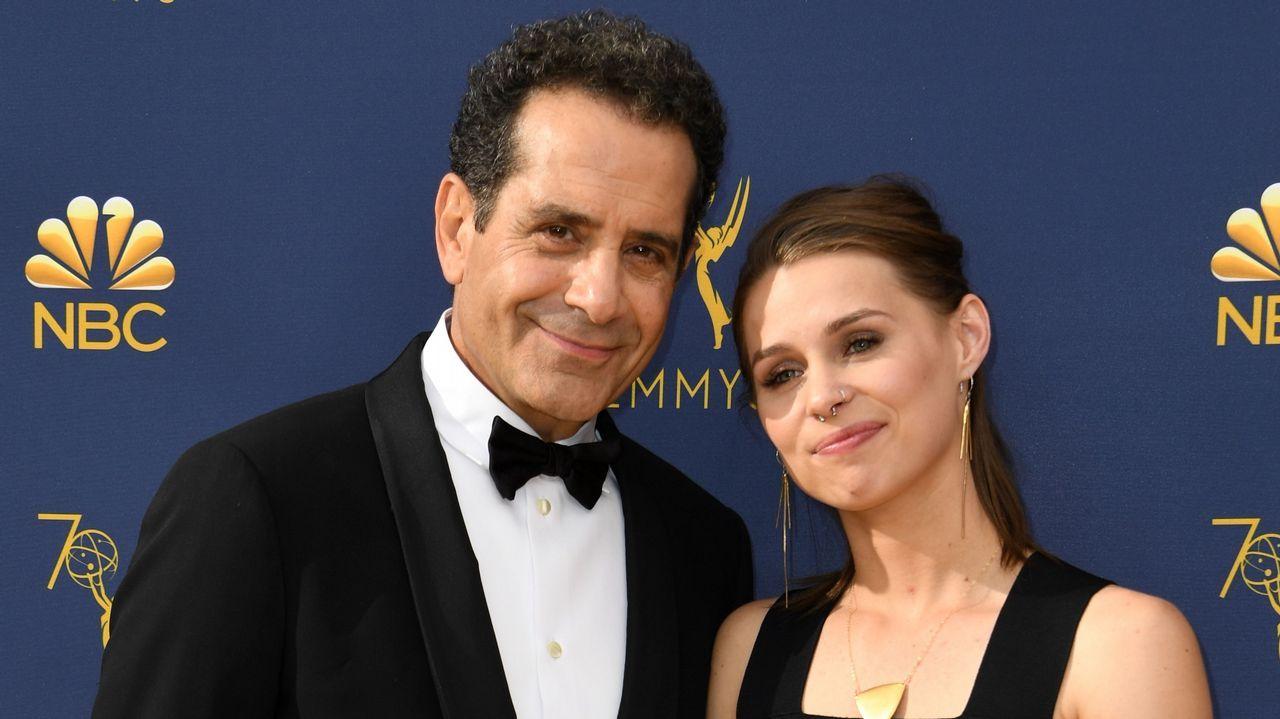 Emmy 2018: Tony Shalhoub y su hija