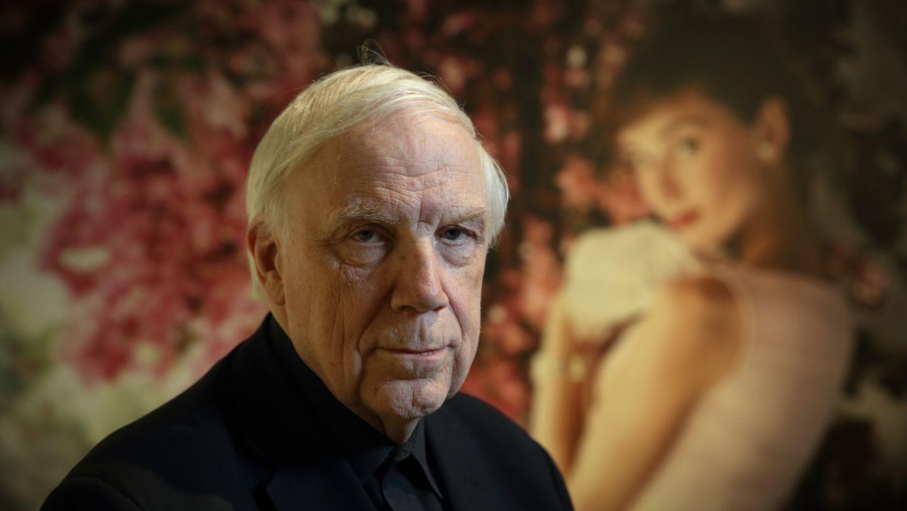 Norman Parkinson en la Fundación Barrié.Mapa australiano