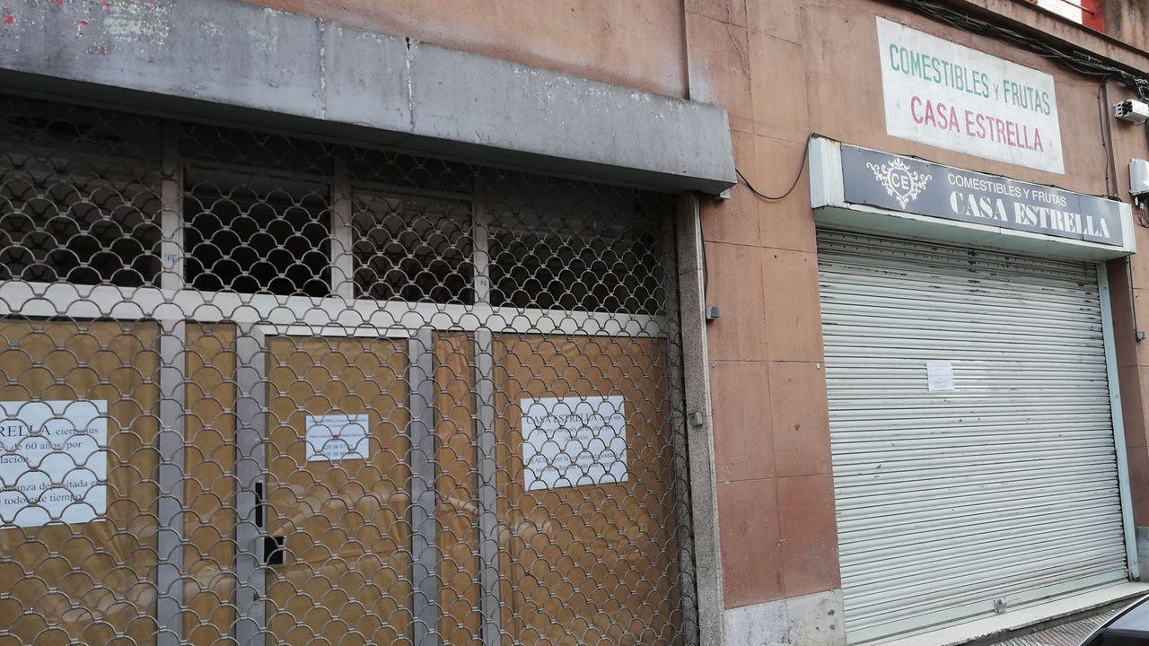 El comercio Casa Estrella, cerrado tras 60 años de funcionamiento