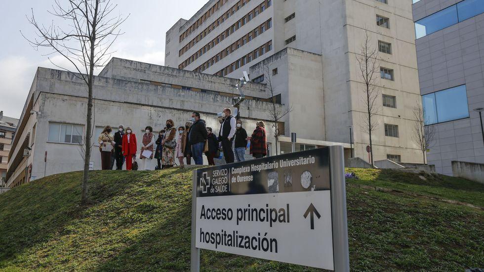 Vuelve el ambiente a la ciudad.En el CHUO hay 19 pacientes ingresados por coronavirus