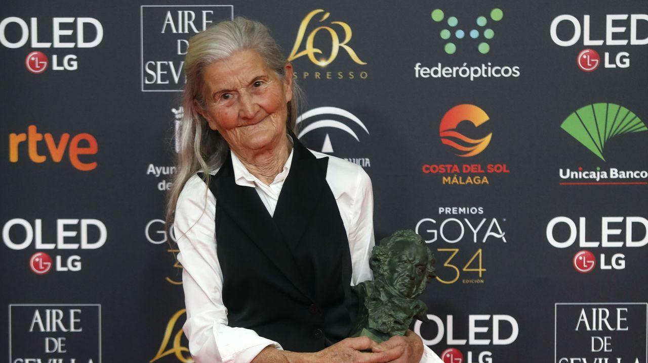 La gala de los Premios Goya, en fotos.Paz Vega optó por el blanco
