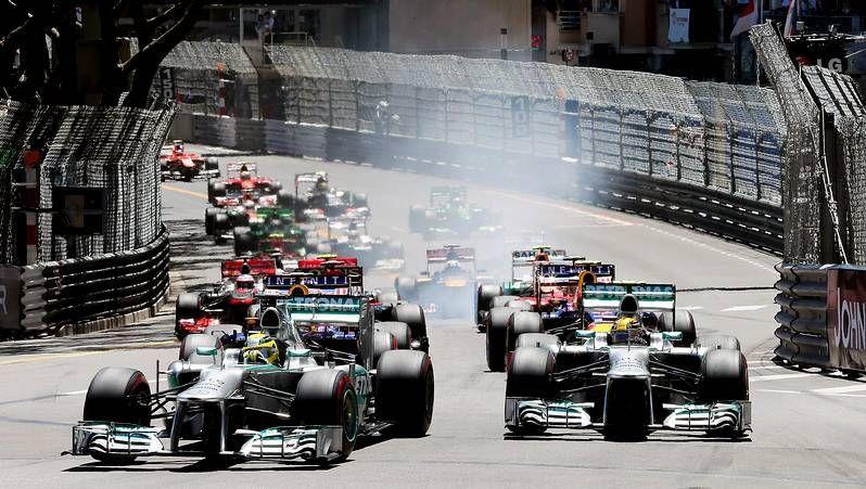 GP de Mónaco: La carrera, en fotos