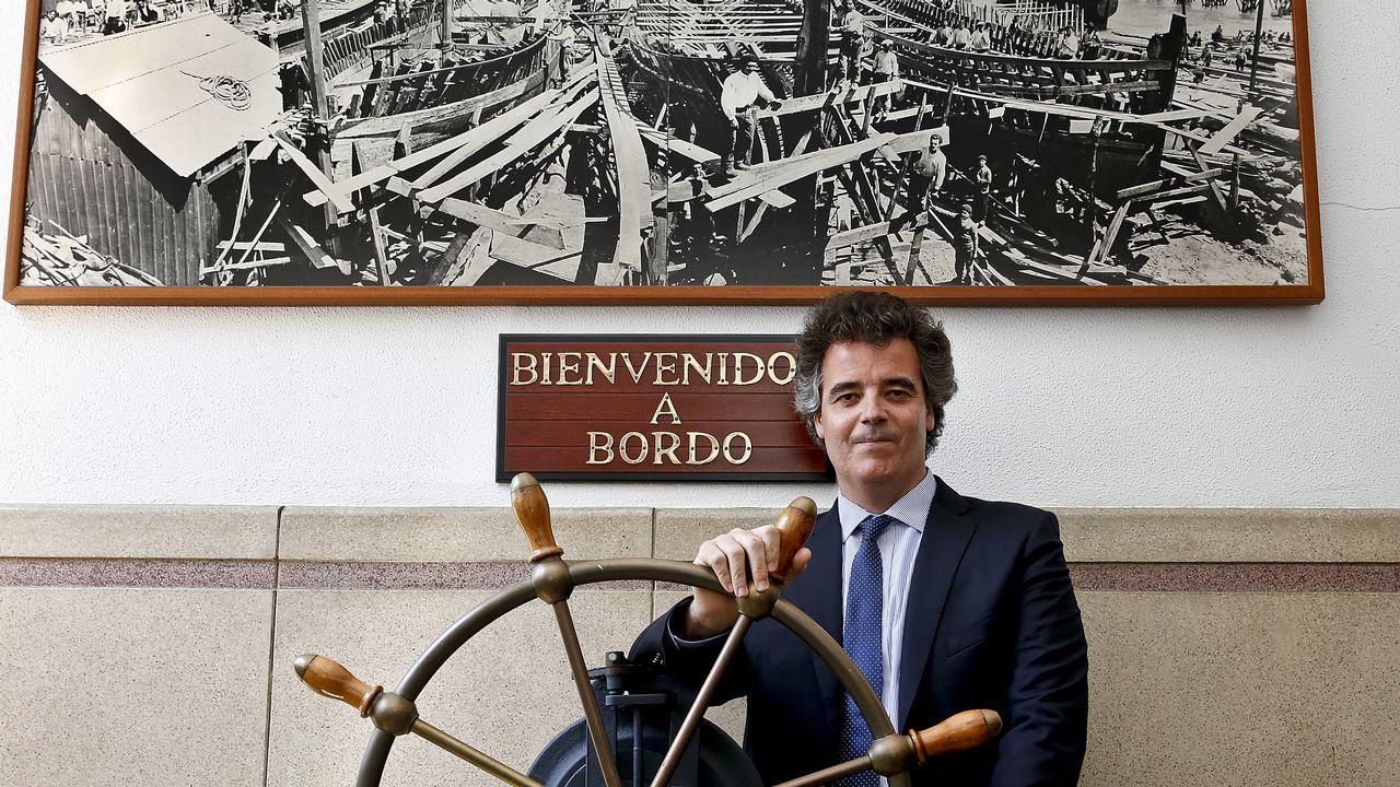 Marcos Freire: «La innovación es un aspecto clave en la recuperación del sector naval».LA construcción de las corbetas se repartirá entre el astillero ferrolano y el de San Fernando (Cádiz).