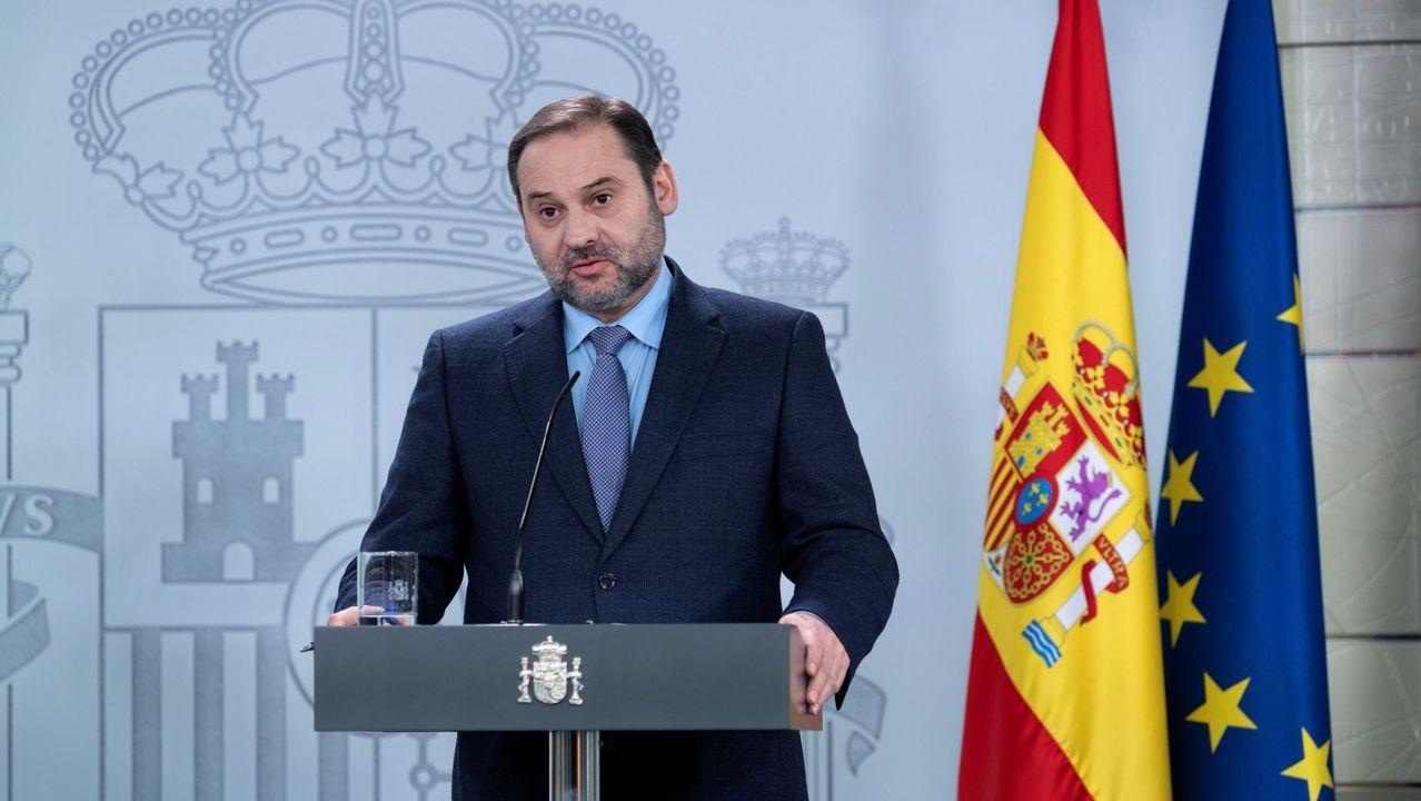 En directo: comparecencia de los ministros Ábalos y Robles