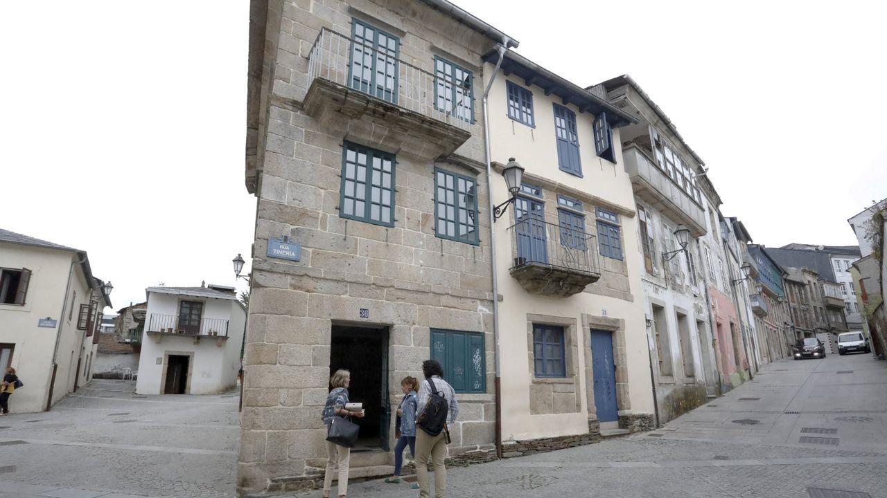 Rehabilitación de viviendas tradicionales en la aldea de A Míllara, en Pantón