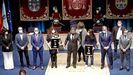 Premios Cidade de Pontevedra a Paula Dapena y los sanitarios