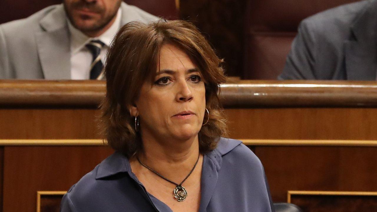 Las grabaciones de un almuerzo en el 2009 desvelan la relación entre Villarejo, Garzón y la ministra Delgado.El excomisario Villarejo permanece en prisión preventiva