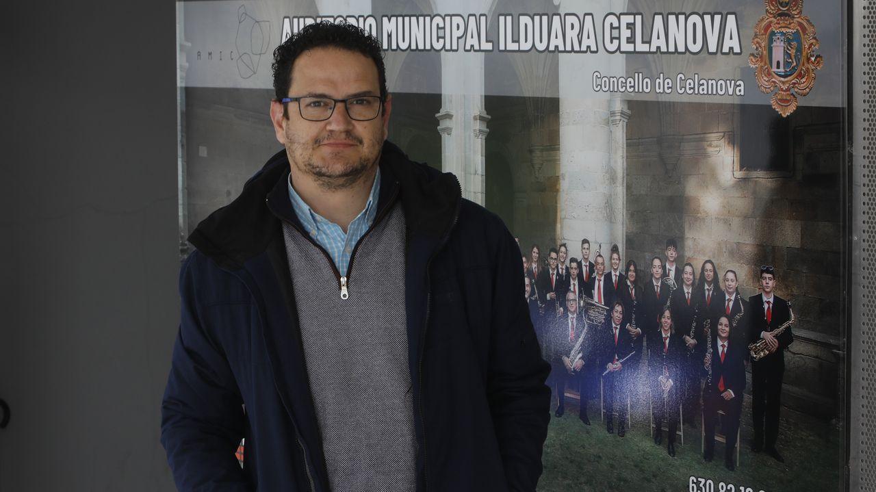 Leopoldo Rodríguez, portavoz del BNG en Celanova