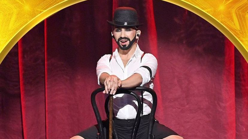 El asturiano Chus Serrano en Got Talent