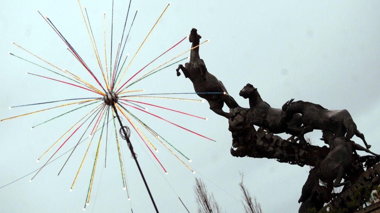 Rotondas como la plaza de España ya merecían atención en el 2004