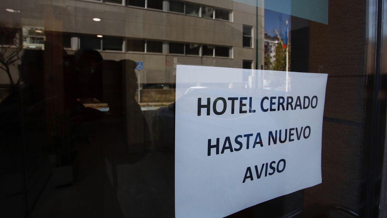 ÁLBUM: Hoteles de Lugo que servirán como alojamiento para distintos colectivos.Hoteles de Lugo que servirán de alojamiento para transportistas, sanitarios y militares