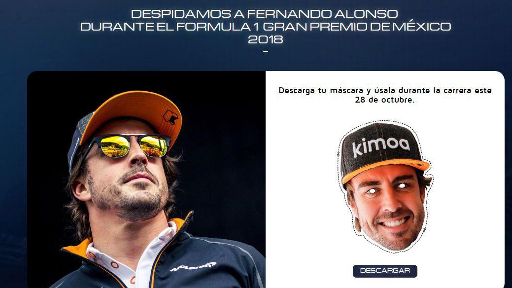 Homenaje a Alonso en México