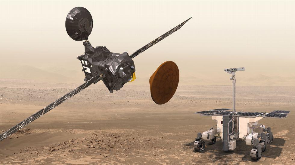 Espectacular panorámica de 360 grados de Marte.Titán, a lúa de Saturno compatible coa vida