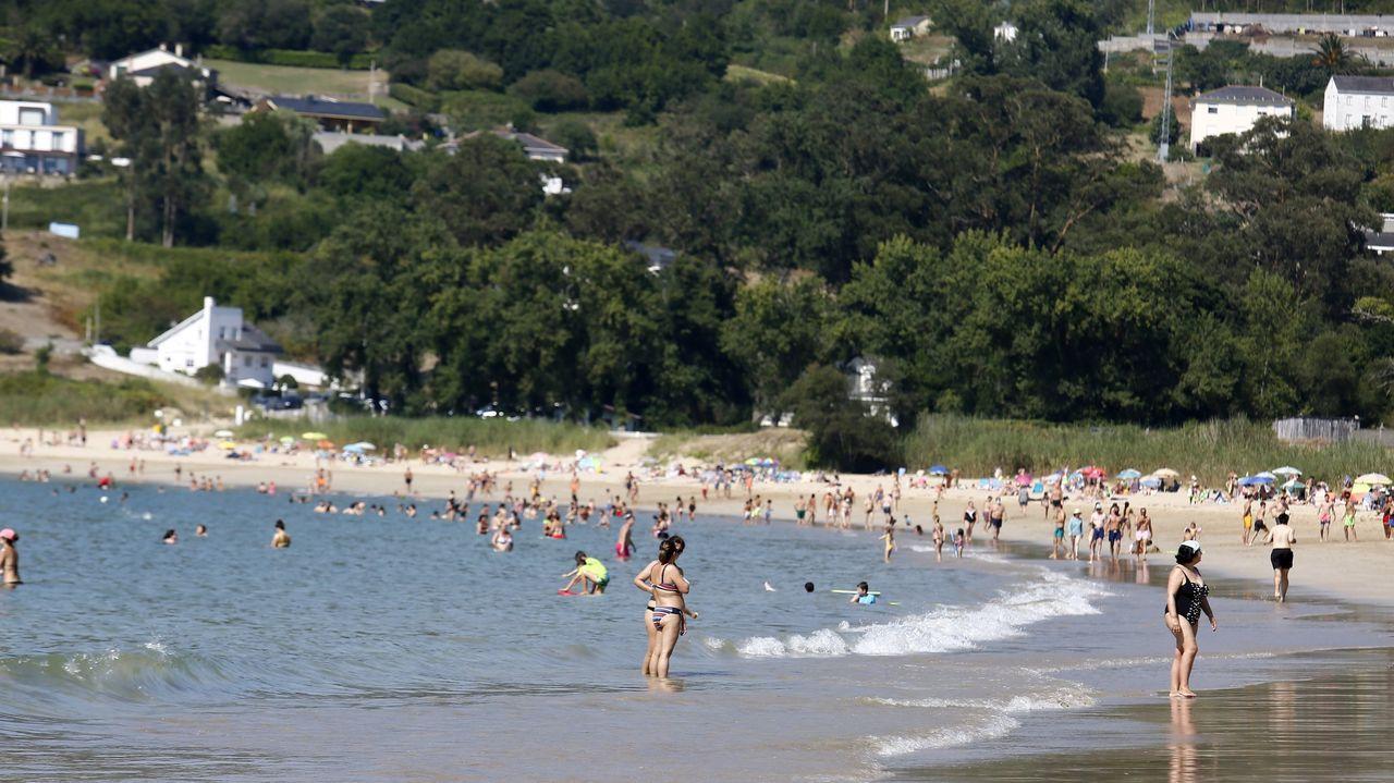 Los miradores con las mejores vistas de la provincia de Lugo.Playa de Area, en el municipio de Viveiro