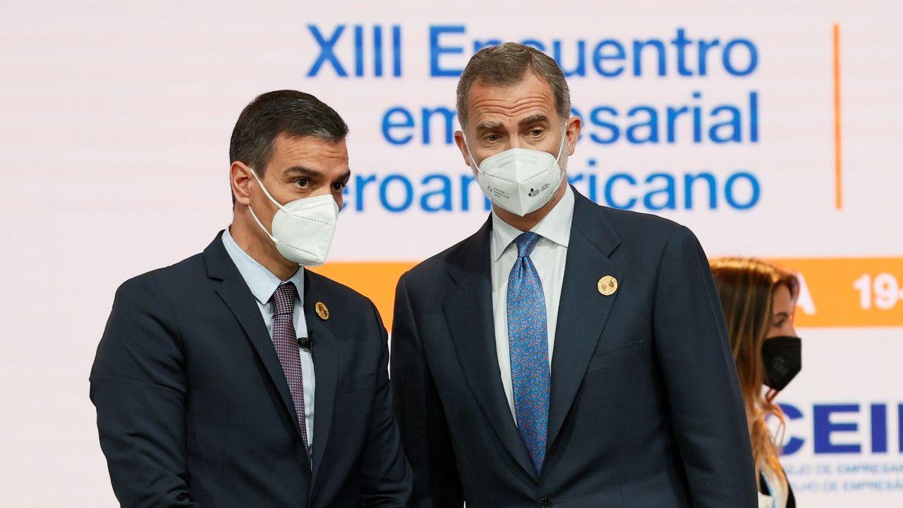 El Rey y Sánchez, este martes el foro empresarial que precede a la XXVII Cumbre Iberoamericana