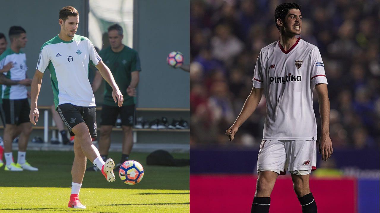 Las mejores imágenes del Deportivo - Sporting de Gijón.Álex Alegría y Carlos Fernández, futuribles