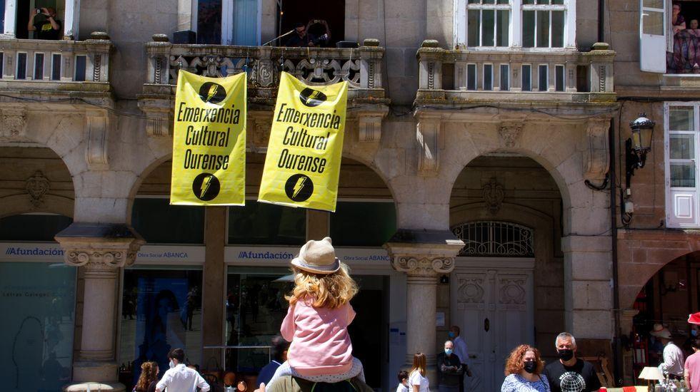 Un dos actos de Emerencia Cultural Ourense