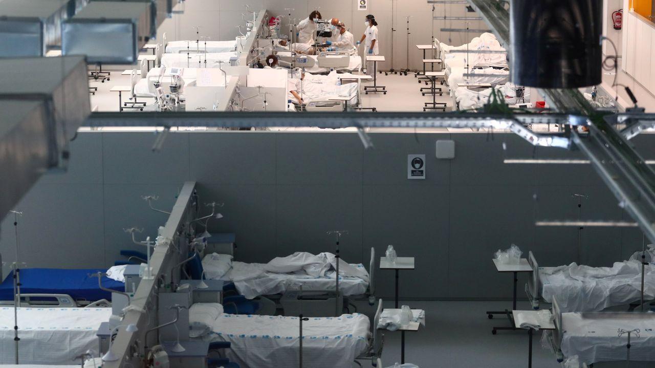 Cifuentes niega haber pedido que falsificaran las actas de su máster.El hospital de emergencias madrileño Enfermera Isabel Zendal