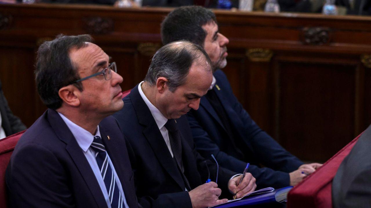 Rull, Turull y Sánchez, en el banquillo del Tribunal Supremo en el 2019