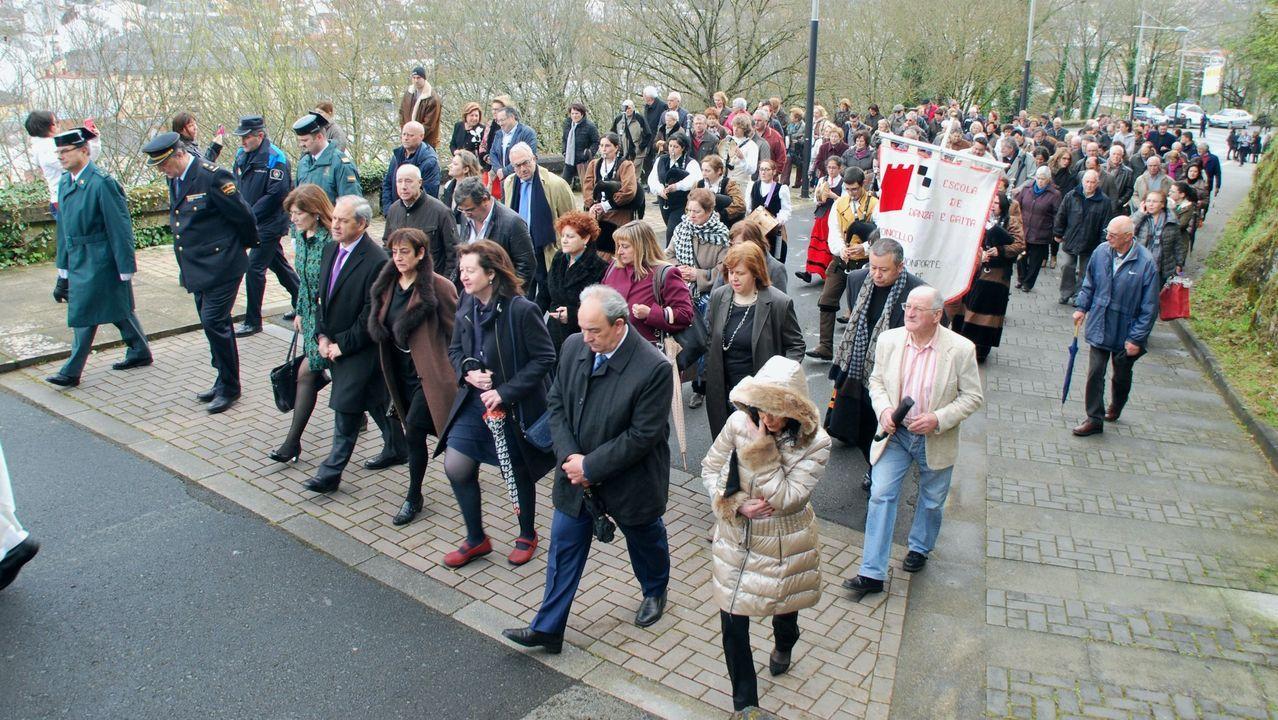 Un momento de la procesión del Martes de Pascua del año pasado
