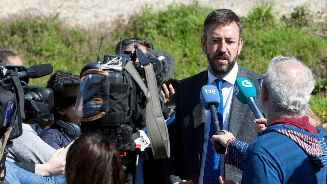 Carlos Vázquez. Alcalde de Tui. Converxencia 21 fue derrotada por el PSOE