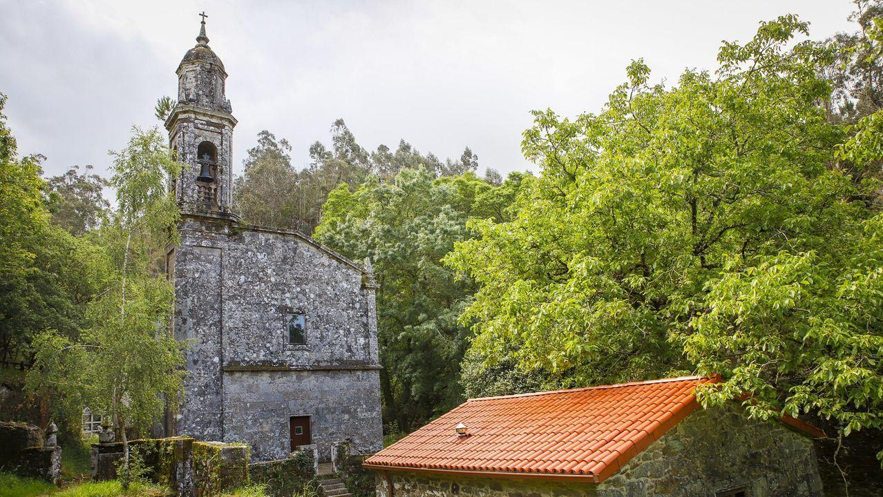 El templo de Toxosoutos fue fundado en el siglo XII, aunque la actual fachada es posterior