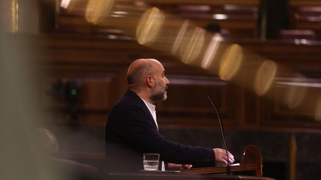 El ministro de Transporte y secretario de organización del PSOE, José Luis Ábalos, en la ejecutiva del partido