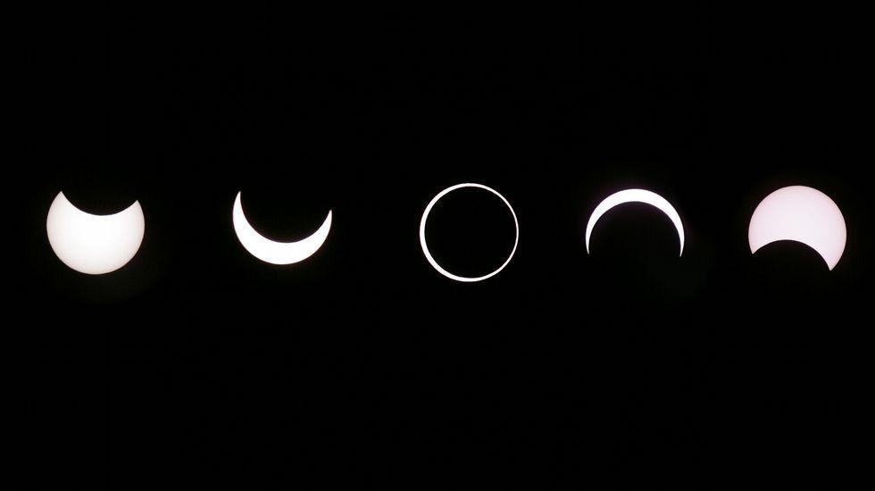 Así fue el eclipse solar de octubre del 2005