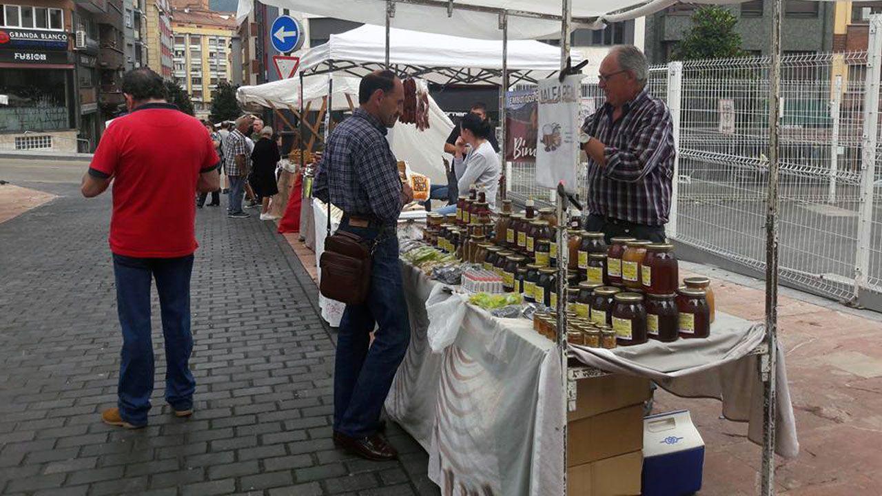 Gascona, sidra, sidrerías,.Imagen de archivo del Mercado de Gascuña, en el Bulevar de la Sidra de Oviedo