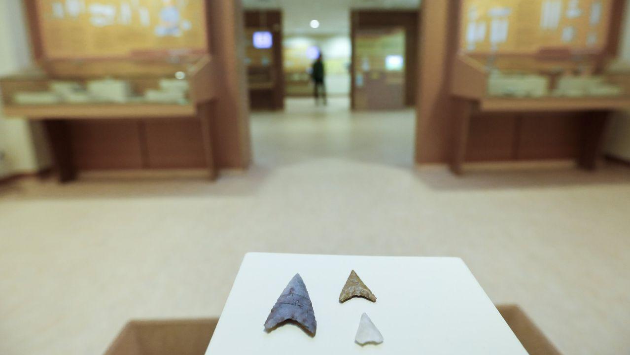 Pasan a disposición judicial los detenidos en la operación contra la fabricación ilegal de tabaco.En el Museo de Prehistoria e Arqueoloxía de Vilalba (Mupav) se exponen piezas halladas en Pena Grande