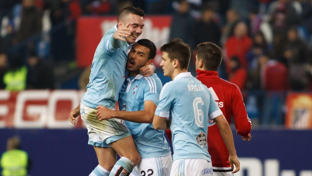 176 - Atlético-Celta (2-3) de Copa el 27 de enero del 2016