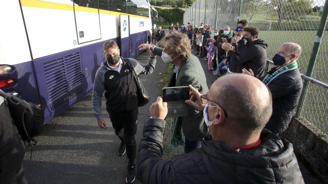 Las imágenes de la victoria del Racing ante el Marino de Luanco