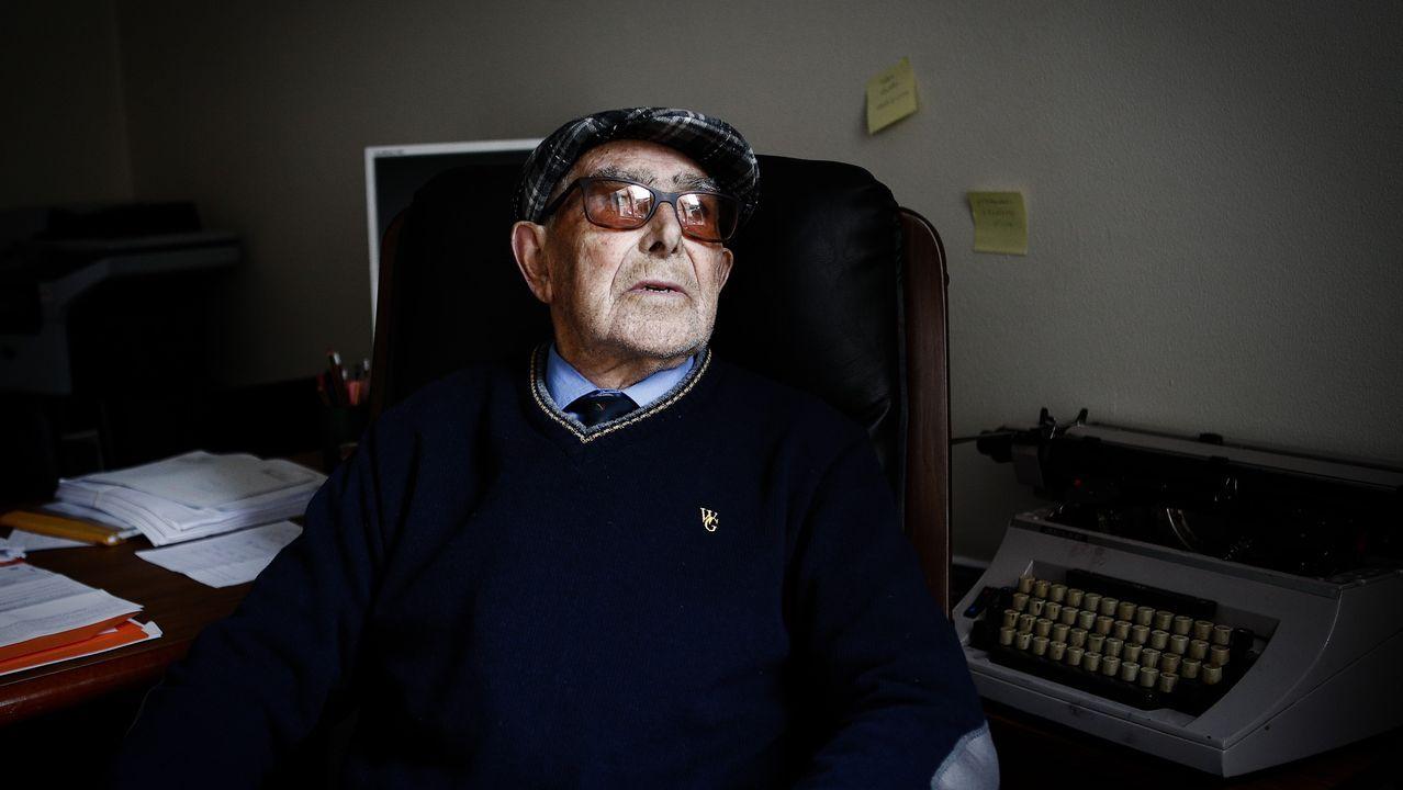27 fotos para llegar a la familia de una víctima del nazismo.Imagen de archivo del Registro Civil de A Coruña