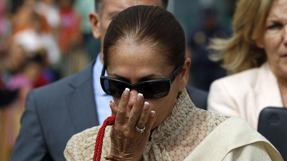 Isabel Pantoja, en su último permiso penitenciario