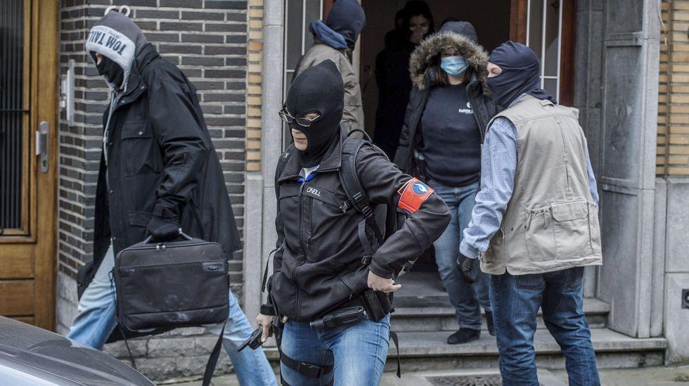 Las imágenes del pánico en Bruselas