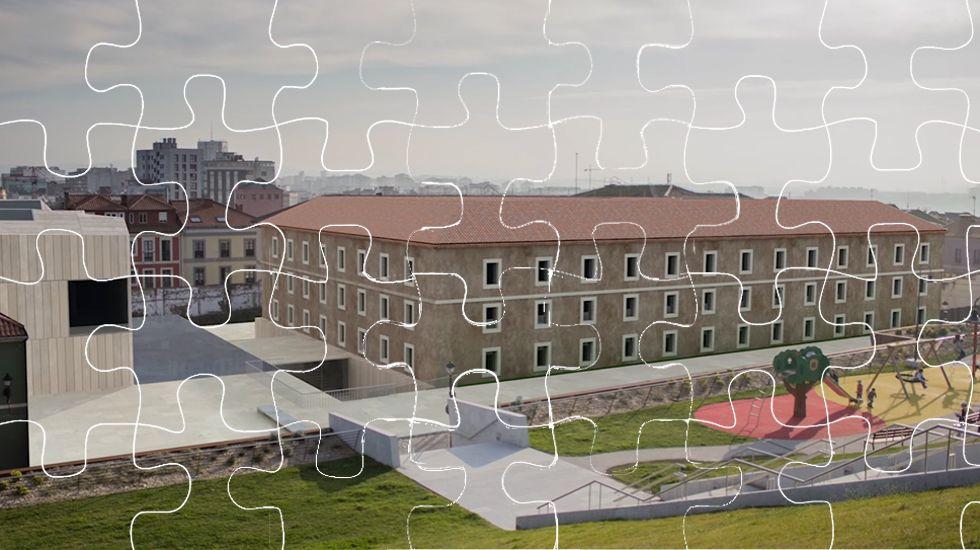 Proyecto Tabacalera Gijón puzle.Pedro Sánchez y Pablo Iglesias durante su última reunión