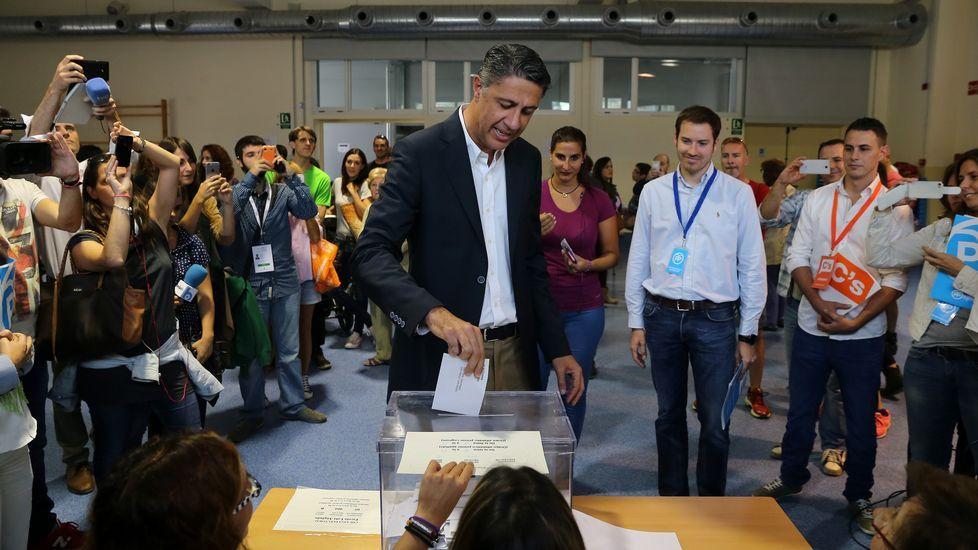 Xavier Garcia Albiol, candidato del Partido Popular