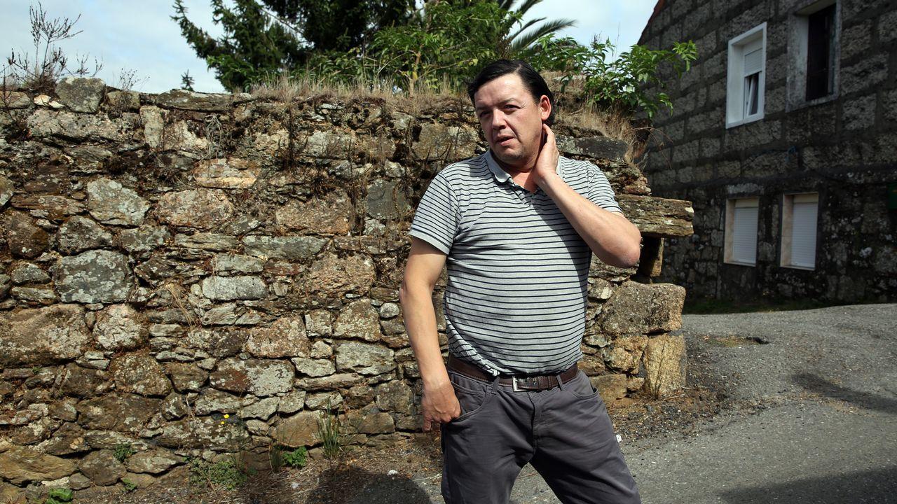 Tomé Alves un vecino de Vilagarcía que fue atracado a punta de pistola en Moraña