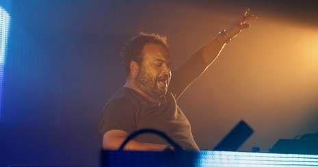Séptima jornada del Festival de Cannes.Carlos Jean es músico, productor y mezclador.