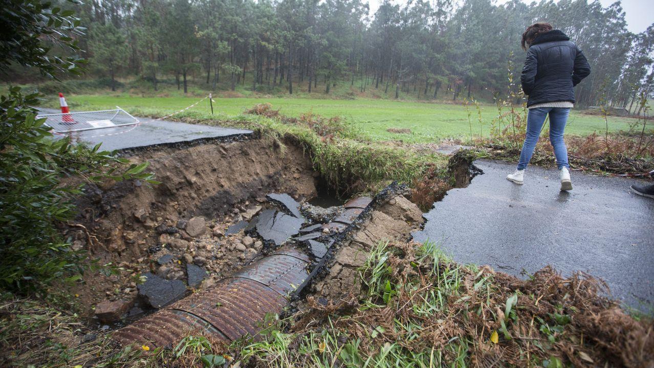 El balance de daños de las riadas en Muxía se eleva a los 1,4 millones