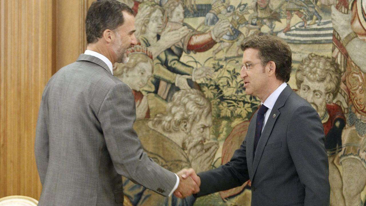 El 8 de junlio del 2015 recibió en audiencia al presidente de la Xunta, Alberto Núñez Feijoo