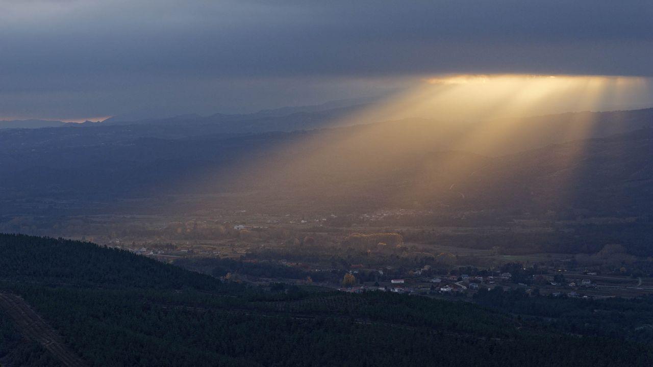 Polos miradoiros da provincia de Ourense