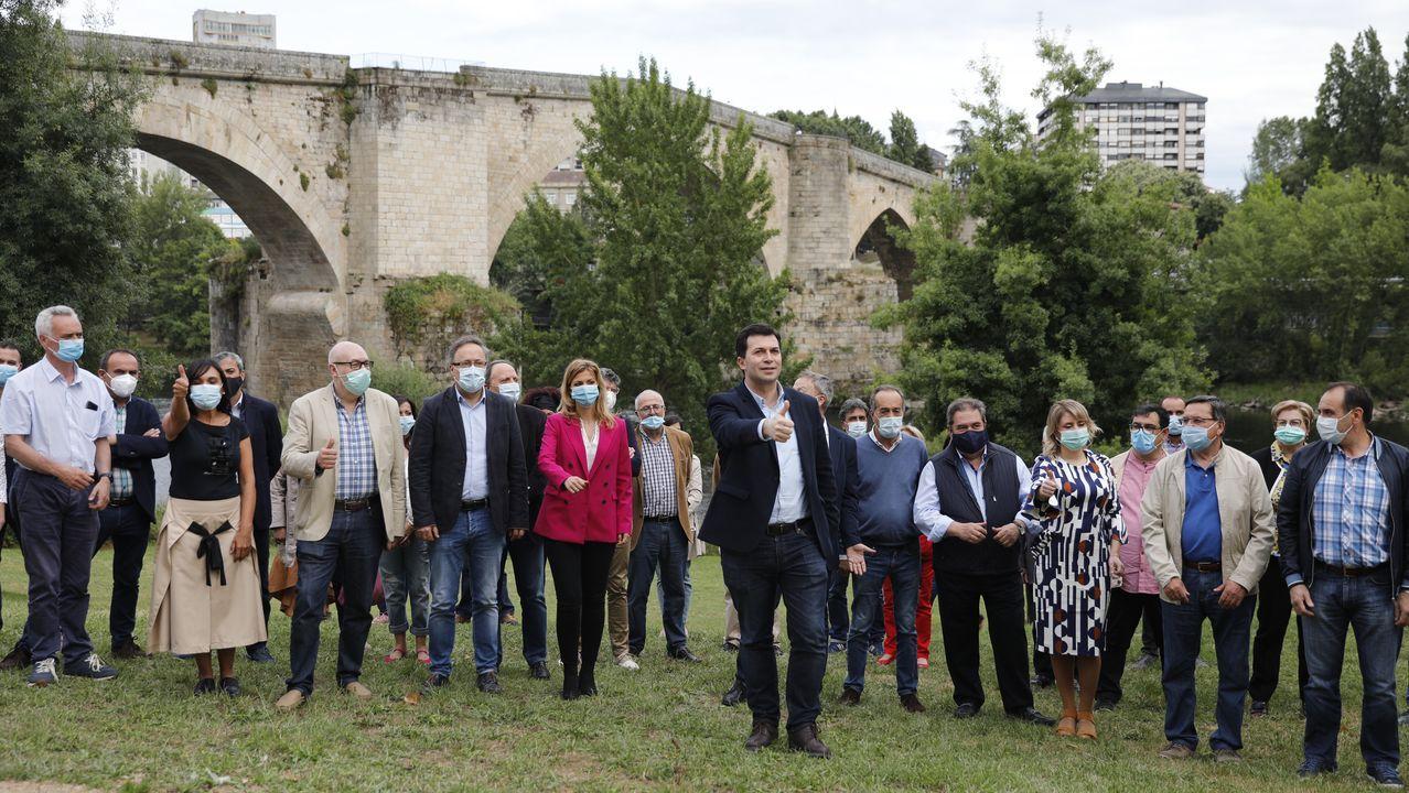 Mitin de Pedro Sánchez en Ourense.Presentación de la candidatura del PSdeG por Ourense para el 12J