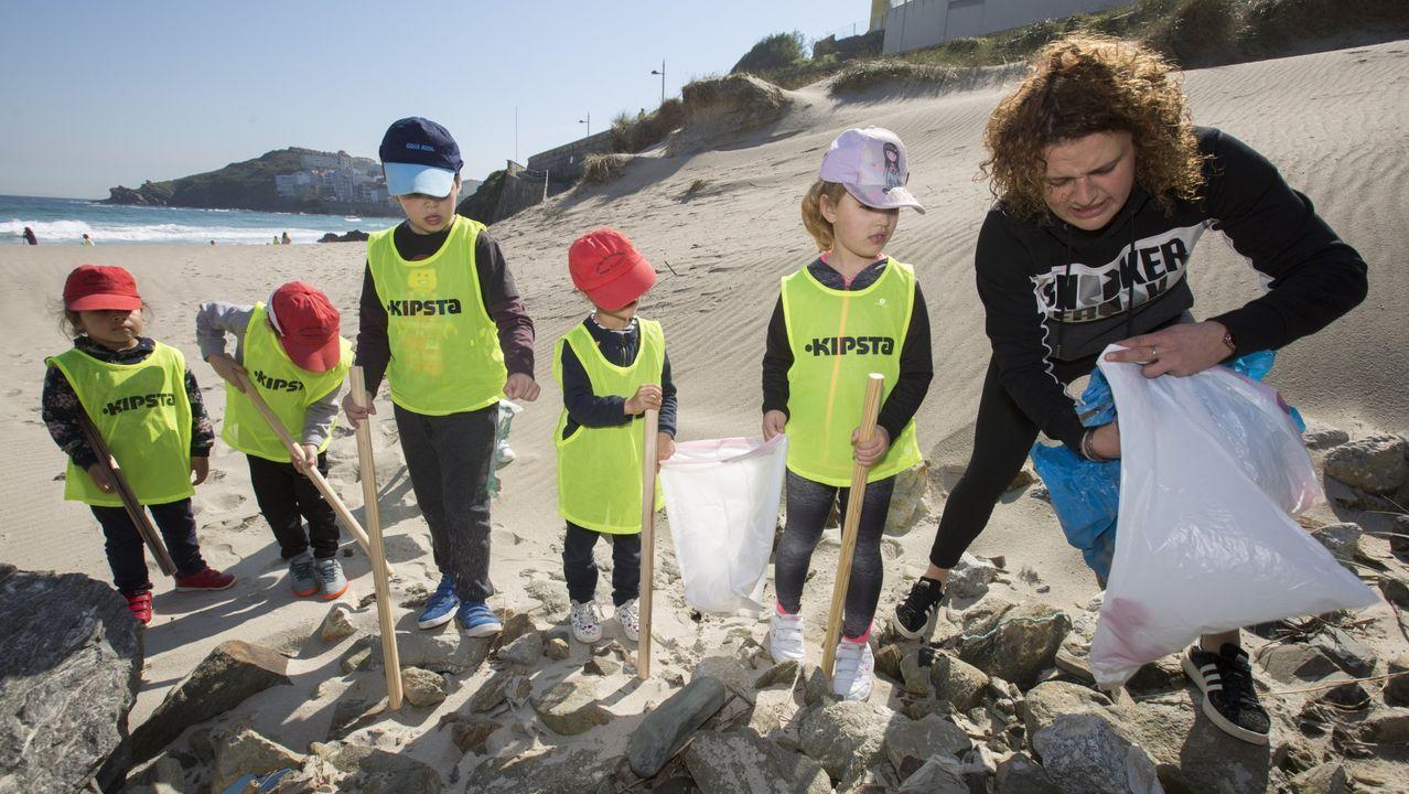 Actividad del CRA Nosa Señora do Faro en el marco del programa Voz Natura