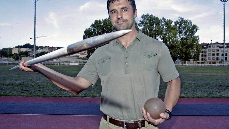 Guatavo Dacal, ayer en el Centro de Tecnificación Deportiva