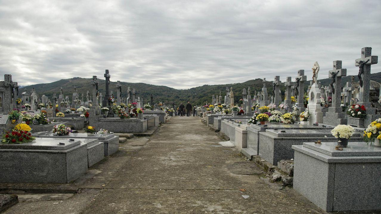 Cementerios singulares de Ourense.Cementerio de Bande.