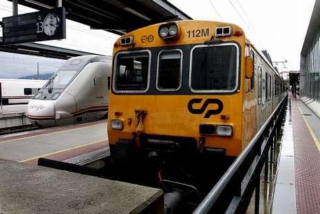 Comboios y Renfe explotan juntas ya la línea del Miño.