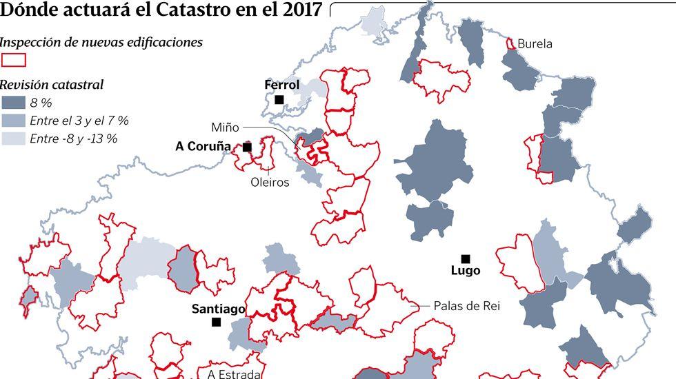 Dónde actuará el Catastro en el 2017